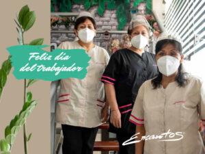 ENCANTOS SALONES - DIA DEL TRABAJADOR